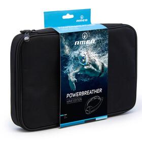 AMEO Powerbreather Wave 2.0 Schnorchel weiß/blau